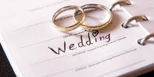 Wedding ideas organized