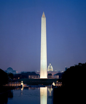 Washington-monument-reflecting-pool-at-night-credit-facebook.com-dash-nationalmall